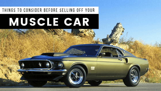 Selling Off muscle Car
