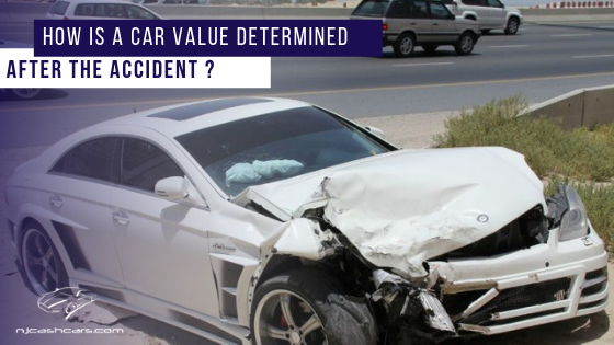 Determine Car value after accident