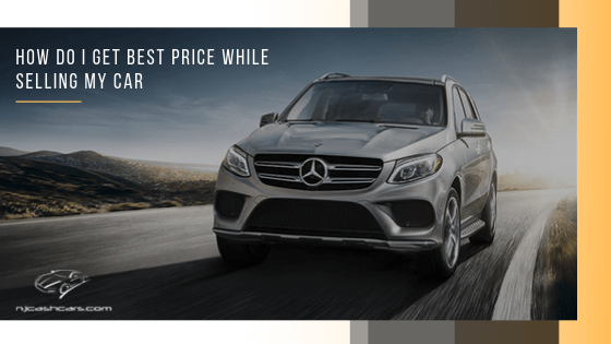 best price while selling car