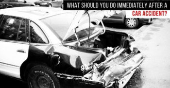 things to do immediately after a car accident