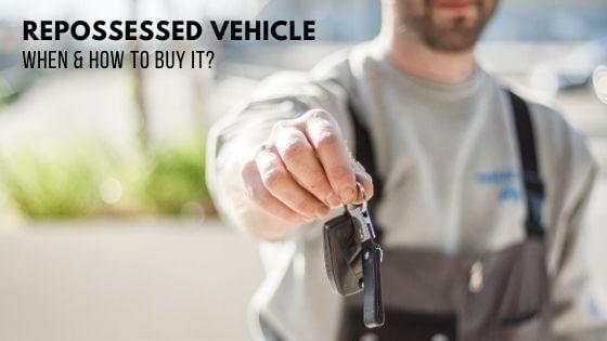 Repossessed vehicle