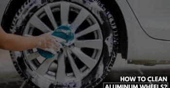 Clean Your Car's Aluminum Wheels