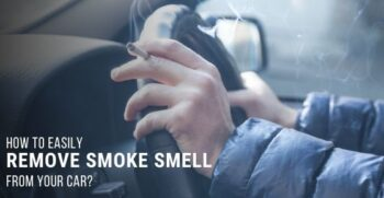 remove smoke smell from your car